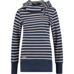 Odzież damska: Ragwear YODA STRIPES Bluza z kapturem navy