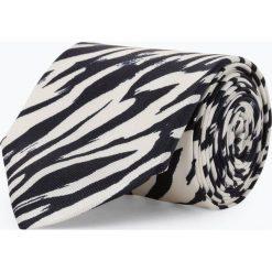 Tiger of Sweden - Krawat jedwabny męski, czarny. Czarne krawaty męskie Tiger of Sweden, z jedwabiu. Za 249,95 zł.