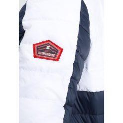 Superdry COLOUR BLOX FUJI Kurtka przejściowa navy/red/white. Niebieskie kurtki męskie przejściowe Superdry, m, z materiału. Za 559,00 zł.