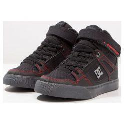 DC Shoes Tenisówki i Trampki wysokie black/red/grey. Czarne trampki dziewczęce DC Shoes, z materiału. W wyprzedaży za 231,20 zł.