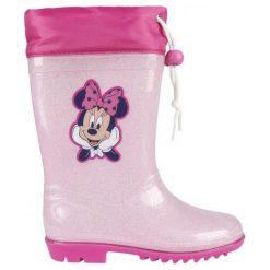 Disney Kalosze Dziewczęce Myszka Minnie 25 Różowe. Czerwone kalosze dziewczęce Disney. Za 69,00 zł.
