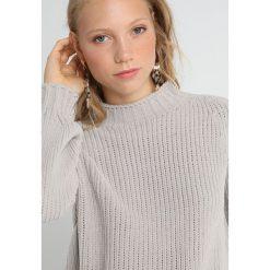 Stefanel MAGLIA IN CINIGLIA Sweter grey. Szare swetry klasyczne damskie Stefanel, l, z materiału. Za 659,00 zł.