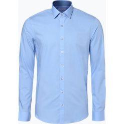 Koszule męskie: Calvin Klein – Koszula męska two ply – Bari, niebieski