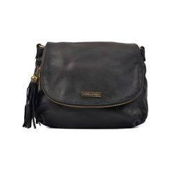 Torebka w kolorze czarnym - (S)30 x (W)26 x (G)6 cm. Czarne torebki klasyczne damskie Bestsellers bags, w paski, z materiału. W wyprzedaży za 249,95 zł.