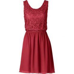 Sukienki: Sukienka bonprix ciemnoczerwony