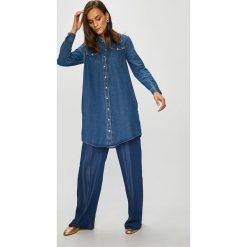 Tommy Hilfiger - Sukienka. Szare sukienki mini TOMMY HILFIGER, na co dzień, z bawełny, casualowe. Za 539,90 zł.