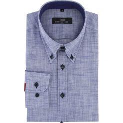 Koszula BIAGIO slim 16-01-14-K. Czarne koszule męskie na spinki marki TOM TAILOR DENIM, l, z bawełny, button down, z długim rękawem. Za 199,00 zł.
