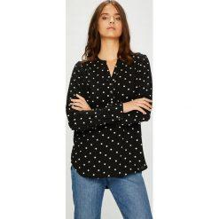 Vero Moda - Bluzka. Czarne bluzki z odkrytymi ramionami Vero Moda, l, z tkaniny, casualowe, z krótkim rękawem. Za 119,90 zł.