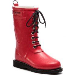 Kalosze ILSE JACOBSEN - RUB15 Deep Red 303. Brązowe buty zimowe damskie marki Alma en Pena, z materiału, na obcasie. W wyprzedaży za 429,00 zł.