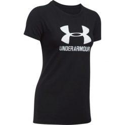 Under Armour Koszulka damska Sportstyle Crew czarna r. XS (1298611-002). T-shirty damskie Under Armour, xs. Za 80,90 zł.