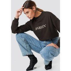 NA-KD Bluza Darlin' - Brown. Brązowe bluzy rozpinane damskie NA-KD, z materiału, długie. Za 121,95 zł.