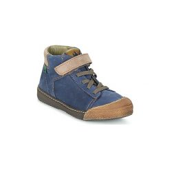 Kozaki Dziecko El Naturalista  FUNDY. Brązowe buty zimowe chłopięce marki El Naturalista. Za 343,20 zł.