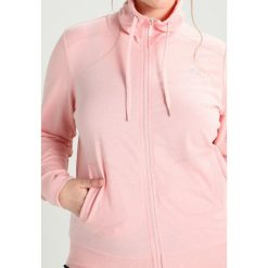 Bluzy damskie: Only Play ONPLINA HIGH NECK CURVY Bluza rozpinana silver pink