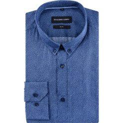 Koszula SIMONE slim KDGS000474. Niebieskie koszule męskie na spinki marki Giacomo Conti, m, z tkaniny, klasyczne. Za 299,00 zł.