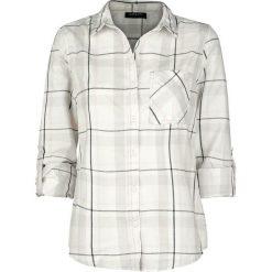 Bluzki, topy, tuniki: Sublevel Ladies Checkered Shirt Bluzka damska szary/biały