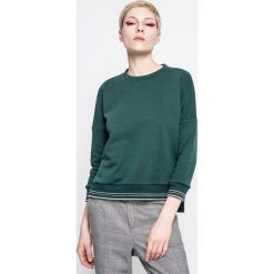 Answear - Bluza Sporty Fusion. Szare bluzy damskie marki ANSWEAR, l, z bawełny, bez kaptura. W wyprzedaży za 49,90 zł.
