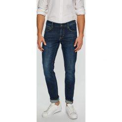 Mustang - Jeansy Oregon Tapered. Niebieskie jeansy męskie slim Mustang, z bawełny. Za 269,90 zł.