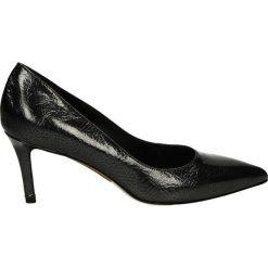 Czółenka - 2002 C V NERO. Czarne buty ślubne damskie Venezia, ze skóry. Za 239,00 zł.