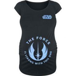 Star Wars The Force Is Strong With This One Koszulka damska czarny. Czarne t-shirty damskie Star Wars, l, z motywem z bajki, z okrągłym kołnierzem. Za 79,90 zł.