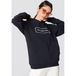Bluzy rozpinane damskie: The Classy Issue Bluza z kapturem Classic Logo - Navy