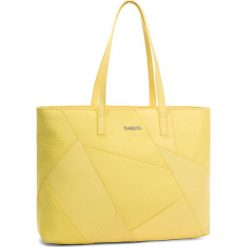 Torebka DESIGUAL - 18SAXPD5 8058. Żółte torebki klasyczne damskie Desigual, ze skóry ekologicznej. W wyprzedaży za 199,00 zł.