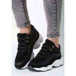 Czarne Sneakersy My Beat. Czarne sneakersy damskie marki Born2be, z materiału. Za 99,99 zł.