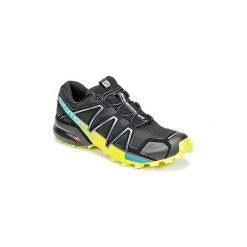 Buty do biegania Salomon  SPEEDCROSS 4. Szare buty do biegania męskie marki Salomon, z gore-texu, na sznurówki, gore-tex. Za 569,00 zł.