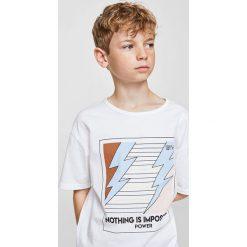 Odzież dziecięca: Mango Kids – T-shirt dziecięcy Clean 110-164 cm