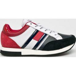 Tommy Jeans - Buty. Szare buty sportowe damskie marki Tommy Jeans, z gumy. Za 399,90 zł.