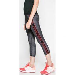 Guess Jeans - Legginsy. Szare jegginsy damskie marki Guess Jeans, s, z aplikacjami, z dzianiny. W wyprzedaży za 139,90 zł.
