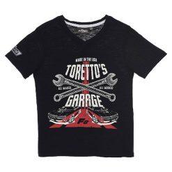 T-shirty chłopięce z nadrukiem: Koszulka w kolorze czarnym