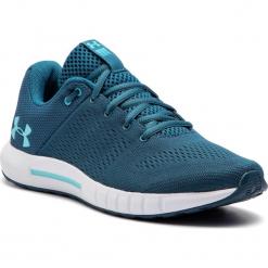 Buty UNDER ARMOUR - Ua W Micro G Pursuit 3000101-301 Blu. Niebieskie buty do biegania damskie marki Under Armour, z materiału. W wyprzedaży za 209,00 zł.