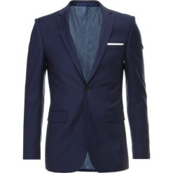Marynarki męskie slim fit: Burton Menswear London MIDNIGHT Marynarka garniturowa navy