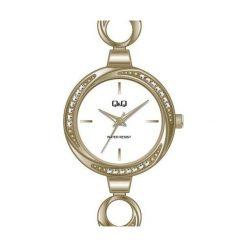 Zegarki damskie: Q&Q F645-001 - Zobacz także Książki, muzyka, multimedia, zabawki, zegarki i wiele więcej