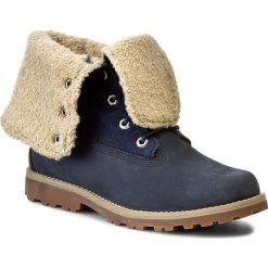 Trapery TIMBERLAND - Ayth 6In Shrl Bt Nav 1690A/TB01690A4841 Blue. Niebieskie buty zimowe damskie Timberland, z materiału. W wyprzedaży za 399,00 zł.