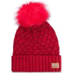 Czapki damskie: Czapka damska PEPE JEANS – Backy Hat PG040159  Royal Red 264