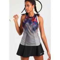 Nike Performance DRY SLAM Koszulka sportowa silver. Szare topy sportowe damskie Nike Performance, xl, z materiału. W wyprzedaży za 191,20 zł.