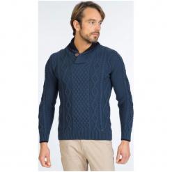 Sir Raymond Tailor Sweter Męski, L, Niebieski. Niebieskie swetry klasyczne męskie Sir Raymond Tailor, m, z wełny. W wyprzedaży za 199,00 zł.