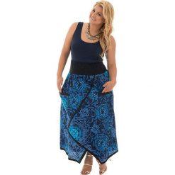 Odzież damska: Spódnica w kolorze niebieskim