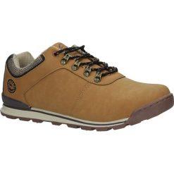 Camelowe buty trekkingowe sznurowane Casu MXC7571. Brązowe buty trekkingowe męskie Casu, na sznurówki. Za 89,99 zł.