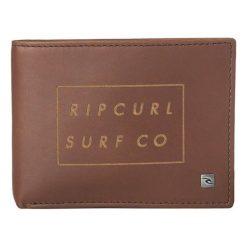 Rip Curl Portfel Męski Brązowy Surf Co Rfid All Day. Brązowe portfele męskie Rip Curl, ze skóry. Za 168,00 zł.