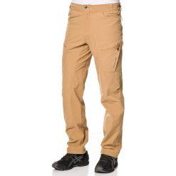 """Joggery męskie: Spodnie funkcyjne """"Tuned In"""" w kolorze jasnobrązowym"""
