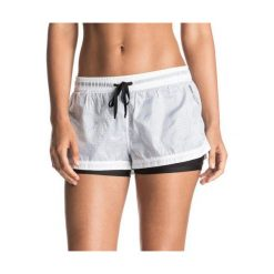 Roxy Spodenki Weellow Short J Marshmellow S. Białe spodenki sportowe męskie marki Roxy, l, z nadrukiem, z materiału. W wyprzedaży za 139,00 zł.