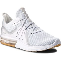Buty do biegania damskie: Buty NIKE - Air Max Sequent 3 908993 101 White/Pure Platinum