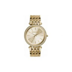 Zegarki analogowe MICHAEL Michael Kors  MK3191. Żółte, analogowe zegarki damskie MICHAEL Michael Kors. Za 691,65 zł.
