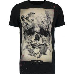 T-shirty męskie z nadrukiem: Religion BIRDS SKULL Tshirt z nadrukiem black