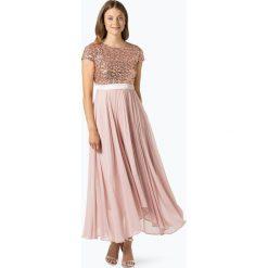 Marie Lund - Damska sukienka wieczorowa, pomarańczowy. Niebieskie sukienki balowe marki Marie Lund, z szyfonu. Za 349,95 zł.