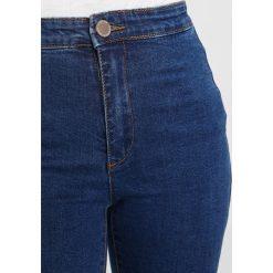 Lost Ink Petite HIGH WAIST Jeans Skinny Fit mid denim. Niebieskie boyfriendy damskie Lost Ink Petite, z podwyższonym stanem, petite. Za 169,00 zł.
