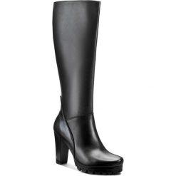 Kozaki LASOCKI - MOKKA-04 Czarny. Czarne buty zimowe damskie Lasocki, ze skóry. Za 349,99 zł.