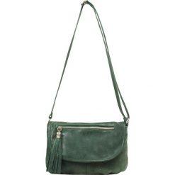 """Torebki klasyczne damskie: Skórzana torebka """"Molly"""" w kolorze khaki – 28 x 29 x 4,5 cm"""